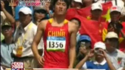 Liu Xiang abandonne [J O] 180808