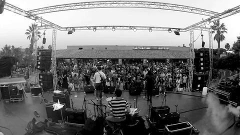 Live Veronica Falls lors de Plage de Rock 2012