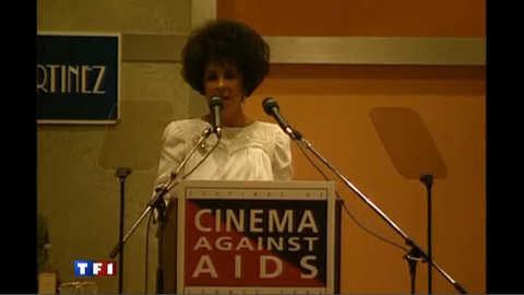 Liz Taylor, une militante de la lutte contre le sida