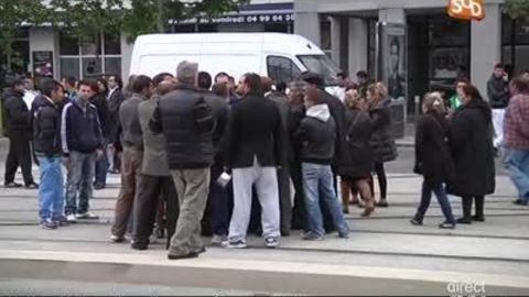 Logement social: La colère des gitans (Montpellier)