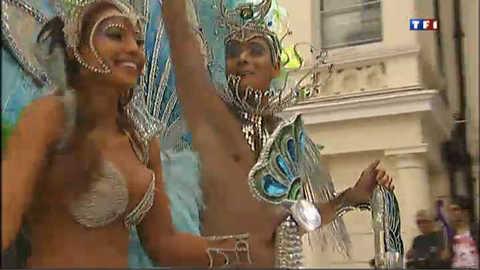 Londres : le carnaval de Notting Hill essaye d'oublier les émeutes