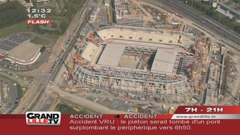 LOSC : Le Grand Stade de Lille en retard ?