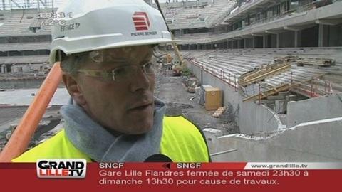 LOSC : Le Grand Stade de Lille livré en Août 2012