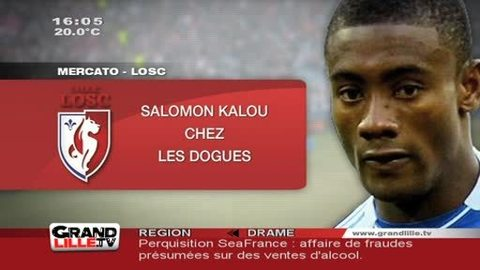 LOSC : Salomon Kalou signe à Lille (Mercato)