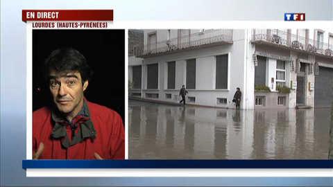 Lourdes : l'eau va-t-elle encore monter?