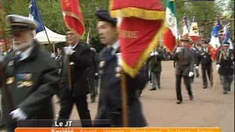 Lyon: commémoration du 8 mai 1945