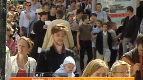 Lyon: rassemblement des anti IVG