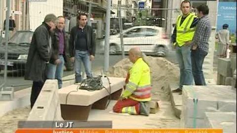 Lyon: retard pour les travaux de la Place des Jacobins