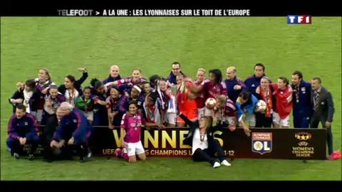 A la une : les Lyonnaises sur le toit de l'Europe (20/05/2012)