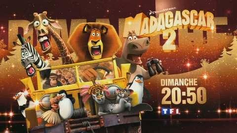 Madagascar 2 : la grande évasion - DIMANCHE 18 DÉCEMBRE 2011 20:50