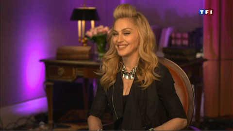 """Madonna : """"chez moi tout le monde parle français, sauf moi"""""""