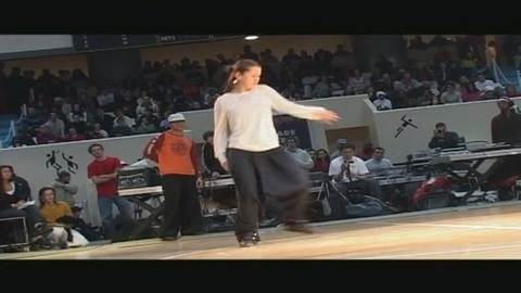 Magalie - french experimental hip hop dance show @ Juste Debout