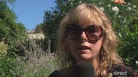 "Maïwenn / Karine Viard : ""Polisse"" à Nîmes"