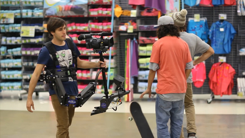 "Making Of Oxelo : ""Skate session by night à decathlon"""