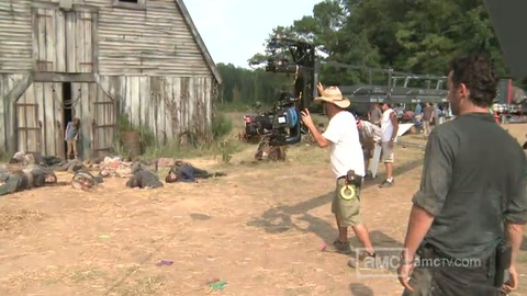 Making of The Walking Dead Saison 2