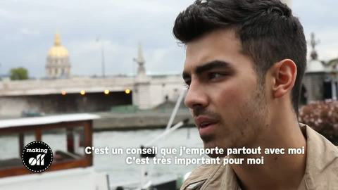 "MAKING OFF - Joe Jonas: ""Just In Love With You"""