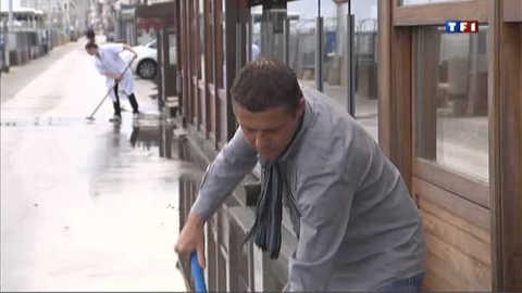 Malo-les-Bains n'en peut plus de la pluie
