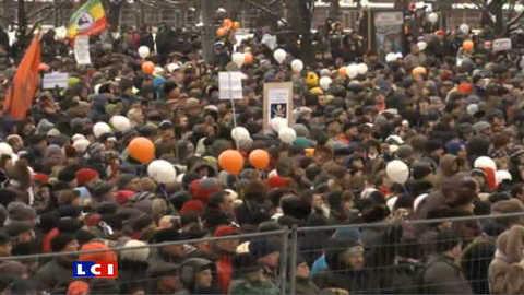 Manifestation monstre à Moscou contre Poutine
