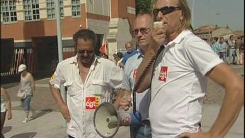 Manifestation des salariés d'ANRAS (Toulouse)