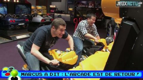 Marcus a dit : l'arcade est de retour !
