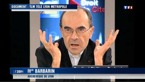 Mariage gay : les propos chocs du cardinal Barbarin