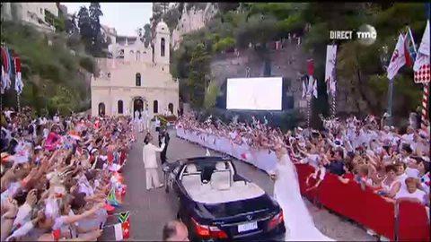 Mariage Princier à Monaco - Arrivée à Sainte Devote