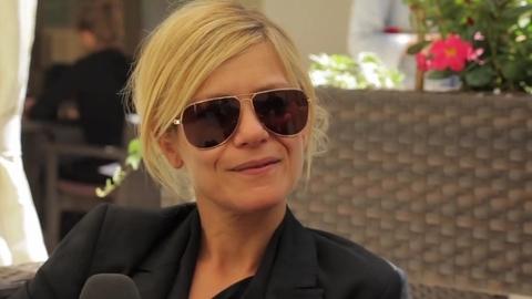 Marina Foïs pour le film Polisse de Maïwenn - Festival de Cannes 2011