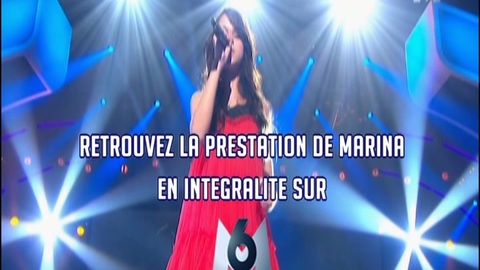 """Marina """"Set the fire to the rain"""" - Finale de la France a un incroyable talent"""