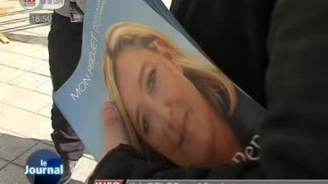 Marine Le Pen candidate des jeunes?