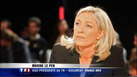 Marine Le Pen compare les prières de rue à l'Occupation : le sonore