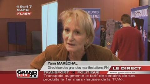 Marine Le Pen / Convention FN de Lille : Le Programme
