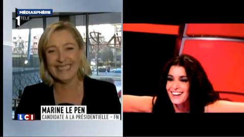 """Marine Le Pen dans """"The Voice"""" ?"""