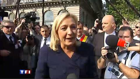 Marine Le Pen en défenseur des classes populaires
