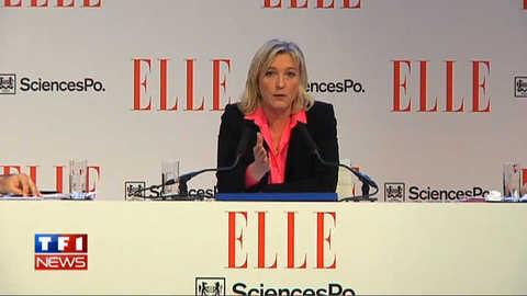 """Marine Le Pen: """"Il y a des abus qui remettent en cause le droit à l'avortement"""""""