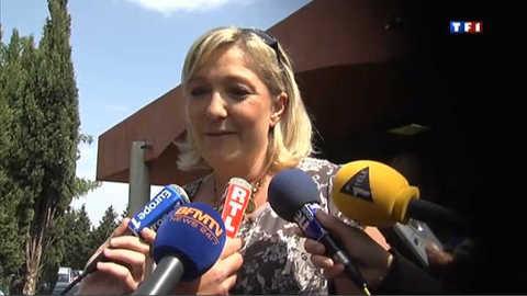 """Marine Le Pen : """"Je ne tomberai pas dans le piège"""""""