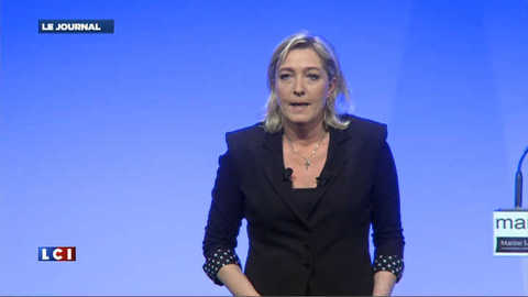 """Marine Le Pen : """"Je ne veux plus de leur système"""""""