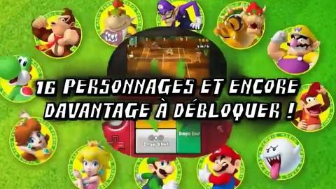 Mario Tennis Open - Trailer - FR - 3DS.flv