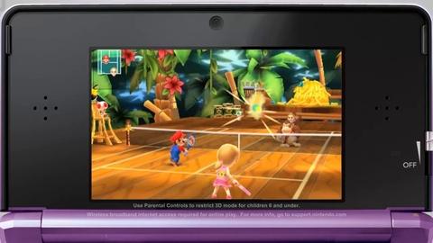 Mario Tennis Open - Vidéo : Spot TV américain