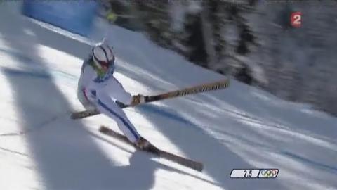 Marion Rolland: la chute la plus rapide au JO ( ski)