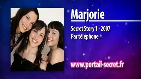 """Marjorie Secret Story 1 : """"Je suis restée enfermée 6 mois pour me remettre de Secret Story !"""""""