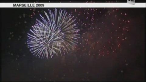 Marseille: le feu d'artifice sera tiré de l'Hippodrome 