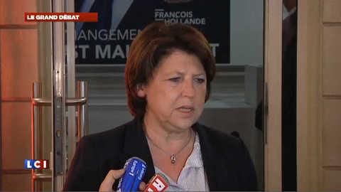 """Martine Aubry : """"François Hollande s'est déjà comporté en président"""""""