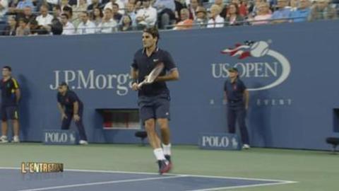"""Mauresmo : """"Federer est en représentation"""""""