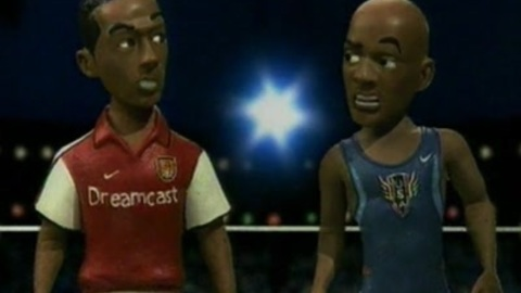 Maurice Greene & Thierry Henry vs. zombie: ultimate fight