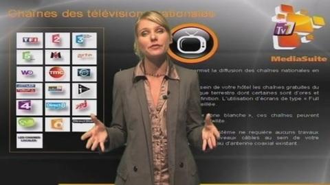 MediaSuite : Hôteliers, Le Multimédia clé en main !