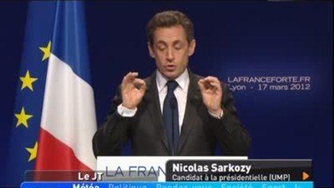 Meeting de Sarkozy: 10 000 personnes à Eurexpo