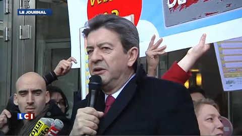 Mélenchon appelle les Français à entrer en résistance contre les marchés