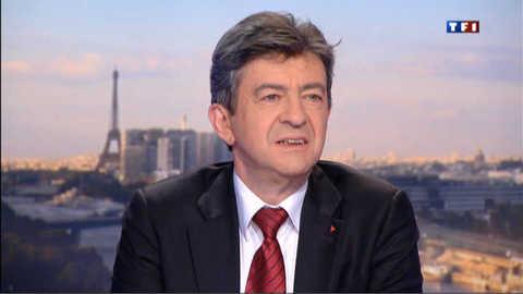 """Mélenchon sur TF1 : Avec le Pen, ce n'est pas une """"affaire personnelle"""""""