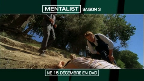 Mentalist - saison 3 en DVD - spot TV