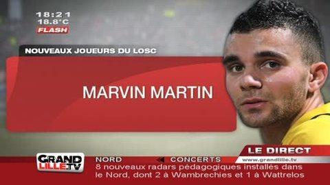 Mercato - LOSC : Marvin Martin et Steeve Elana à Lille !